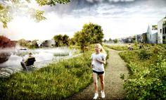 Image 6 of 15 from gallery of Vinge Masterplan Proposal / EFFEKT + Henning Larsen Architects. Courtesy of EFFEKT + Henning Larsen Architects