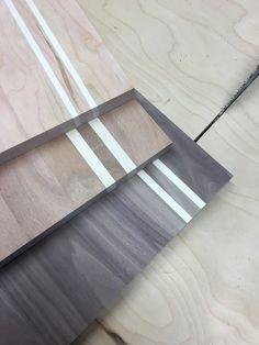 Cherry, Sapele, and Walnut cutting boards