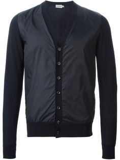 #moncler #cardigan #jacket #sweater #padded #navy #mens  www.jofre.eu