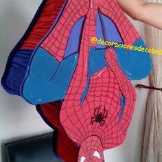 #spiderman#decoracionesdecoball#piñatas#foami#hombrearaña#fiestainfantil