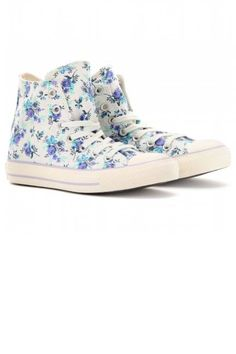 Converse Chuck Taylor All Star High-Tops, $89 (on sale); mytheresa.com These are super adorable, espescially since my latest obsession is floral things. :)