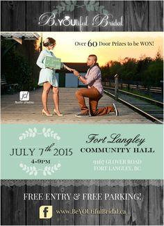 BeYOUtiful Bridal Show july7th fortlangley