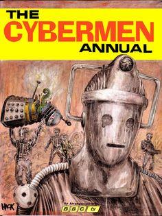 1968 Cybermen Annual by RobertHack.deviantart.com on @deviantART