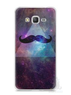 Capa Samsung Gran Prime Bigode - SmartCases - Acessórios para celulares e tablets :)