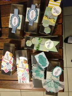 Tag a Box packaging and gift ideas from Stampin' Up!