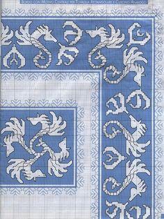 Gallery.ru / Фото #3 - 116 - Yra3raza Cross Stitch Bookmarks, Cross Stitch Borders, Cross Stitch Charts, Cross Stitch Designs, Cross Stitching, Cross Stitch Patterns, Blackwork Embroidery, Hand Embroidery Stitches, Diy Embroidery