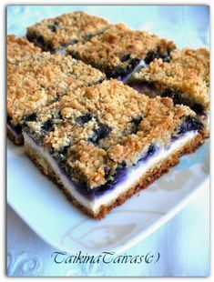 Mustikka-rahkapiirakka Baby Food Recipes, Sweet Recipes, Baking Recipes, Finnish Recipes, Scandinavian Food, Just Eat It, Brownie Bites, Sweet Pastries, Sweet Pie