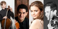 """Town Music curator Roman will be joined by New York City-based violinist Sussman, Canadian violinist (and return Town Hall favorite) Gomyo, and Westchester Philharmonic's principal violist Armbrust in a performance of Britten's """"String Quartet"""" and other works."""