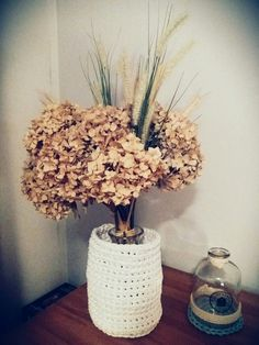 #handmade #diy #doityourself #homedecor #crochet #cottonstring #autumn #inspiring
