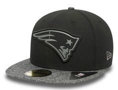 Grey Collection New England Patriots 59Fifty Fitted Cap by NEW ERA x NFL