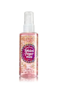 Twisted Peppermint Travel Size Fine Fragrance Mist - Signature Collection - Bath & Body Works