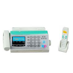 Miniature Fax Machine and Telephone