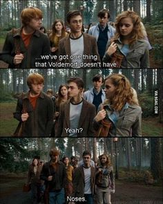 Harry Potter Jokes Even Muggles Will Appreciate A true distinction between Voldemort and all other wizards. Memes Do Harry Potter, Images Harry Potter, Harry Potter Funny Pictures, Fans D'harry Potter, Harry Potter Fandom, Harry Potter World, Harry Potter Stuff, Harry Potter Voldemort, Harry Potter Spells