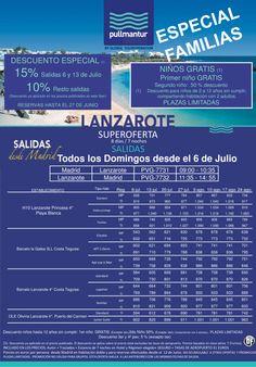 LANZAROTE Especial Familias Salidas 06/07 a 24/08 ultimo minuto - http://zocotours.com/lanzarote-especial-familias-salidas-0607-a-2408-ultimo-minuto/