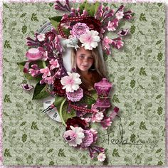"""""""Beautiful Magniolas"""" by scrap'Angie  RAK Angéllique Brément  http://scrapfromfrance.fr/shop/index.php?main_page=index&cPath=88_240 https://www.e-scapeandscrap.net/boutique/index.php?main_page=index&cPath=113_246 http://www.digiscrapbooking.ch/shop/index.php?main_page=index&cPath=22_180 http://scrapbird.com/shop/scrap-angie-m-176.html  WA """"SPRING Vol1"""" by Christaly Design"""