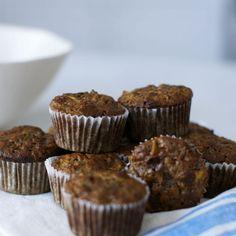 Gluten-Free Banana Apple Walnut Muffins Recipe