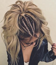 Best Women Haircuts Over Hair makeup Unless you have been living under a rock I am sure you are well aware the hair scrunchie trend is back., Hair Makeup, # Braids for men african americans pony frisur brille Pretty Hairstyles, Easy Hairstyles, Bohemian Hairstyles, Perfect Hairstyle, Everyday Hairstyles, Flower Hairstyles, Perfect Ponytail, Wild Hairstyles, Hairstyle Ideas
