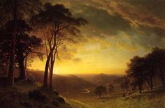 The Athenaeum - Sacramento River Valley (Albert Bierstadt - )