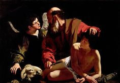 The Sacrifice of Isaac - Caravaggio, Michelangelo (Italian, 1571 - Fine Art Reproductions, Oil Painting Reproductions - Art for Sale at Bohemain Fine Art Michelangelo Caravaggio, Philippe De Champaigne, Dynamic Painting, Gypsy Girls, John The Baptist, Oil Painting Reproductions, Chiaroscuro, Italian Artist, Rembrandt