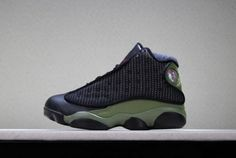 8bad42ce6f1 Newest Kids Air Jordan 13 Olive Basketball Shoes New Nike Shoes