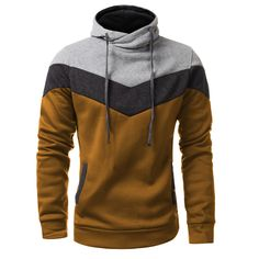 Item Type: Hoodies Gender: Men Clothing Length: Regular Brand Name: Zanzea Hooded: Yes Collar: Turtleneck Sleeve Length: Full Type: Slim Fit Material: Cotton, Polyester size Cross Shoulder(cm) Chest W