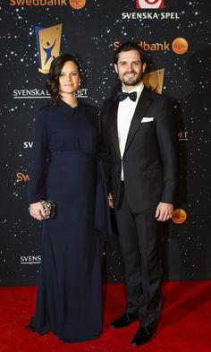 Princess Sofia and Prince Carl Philip of Sweden step out for glam date night #SwedishRoyals
