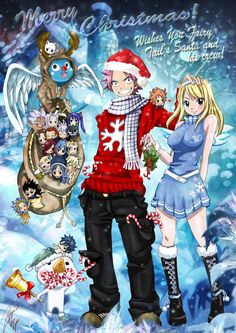 Merry Christmas - Fairy Tail - Hiro Mashima