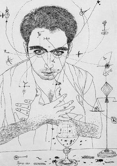 Tapies, Antoni (1923-2012)  Self-Portrait, 1947 (Mainz State Museum, Germany)