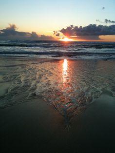 Sunset- Praia Azul, West Coast of Portugal. -Photo by NuCeu