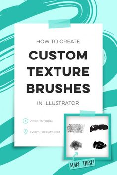How to Create Illustrator Texture Brushes | Every-Tuesday