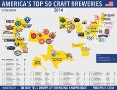 TOP 50 #USA CRAFT BREWERIES #beer http://vinepair.com/wine-blog/map-top-50-craft-breweries-2014/… @MacCocktail @tinastullracing @MrScottEddy @winewankers