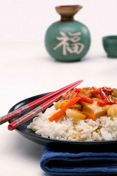 Poulet chop suey : Poulet chinois, poulet à la sauce chinoise - Repas chinois: nos recettes de repas de cuisine chinoise du nouvel an