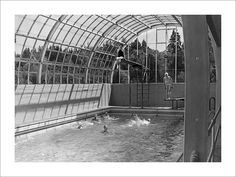 Blue Dell Swimming Pool This Is An Old Picture The 39 Burgh Back In The Day Pinterest