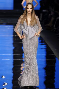 Fashion designer Elie Saab fall 2012 evening dresses for summer 2013