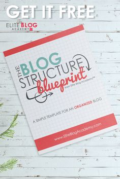 LOVE this blueprint for bloggers.  I felt scattered and overwhelmed with my blog before I found this.