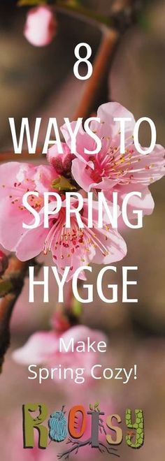"""It seems like all you hear about all winter anymore is """"hygge."""" What's hygge? Hygge is a Danish concept of living a cozy life, enjoying the simple things, and good food. While this is usually a winter concept, check out these 8 Ways to Spring Hygge. Carpe Diem, Cold Climate Gardening, Hygge Life, Hygge House, Danish Words, Homemade Cleaning Products, Stress, Comfy Blankets, Rustic Lighting"""