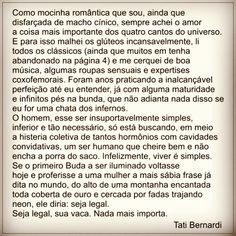 Tati Bernardi #frases #love #amor #quotes