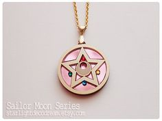 MADE to ORDER Sailor Moon Crystal Star Inspired Acrylic Necklace for Mahou Kei & Magical Girl Fashion