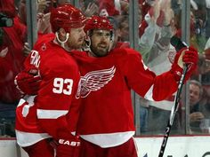 I love a hockey hug.