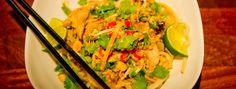 Zeste | Pad thaï au poulet du Cuisinier rebelle