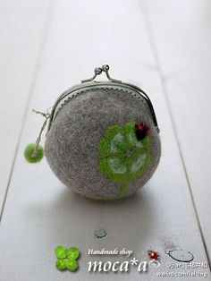 felted coin purse                                                                                                                                                                                 More