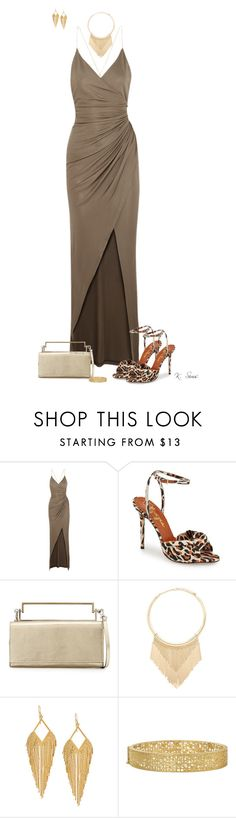 """Formal"" by ksims-1 ❤ liked on Polyvore featuring mode, Balmain, Charlotte Olympia, COSTUME NATIONAL, Forever 21, Panacea, Yossi Harari, women's clothing, women et female"