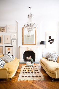 Modern chic home tour from This is Glamorous.