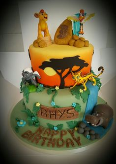 Lion Guard Birthday Cake  Lion guard Birthday Ideas Pinterest