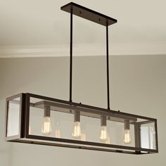 Check out Industrial Modern Island Chandelier from Shades of Light