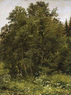 Ivan Shishkin At the edge of the forest -