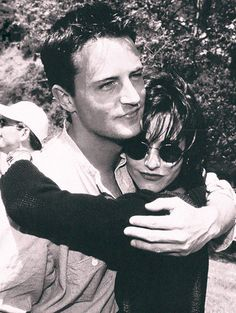Mathew Perry + Courteny Cox