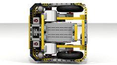 """Lego EV3 """"Fllying Box Turtle"""" underside (dluders) Tags: robot lego"""
