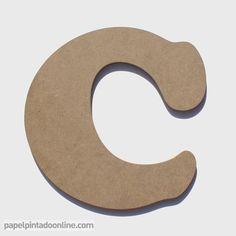 Letras de Madera de 20 Cm de alto x 1 Cm de Grosor ideales para decorar las paredes, la gran ventaja de este producto es que se fabrica en crudo para que cada persona lo decore a su gusto, con papel pintado, pintura, etc.. http://www.papelpintadoonline.com/es/307-letras-de-madera-20-cm