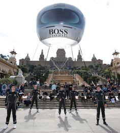 Helium Ballonnen.: Hugo Boss Ballon